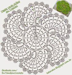 spiral flower doily pattern ⋆ Crochet Kingdom