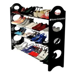 Best Shoe Rack Organizer Storage Bench - Store up to 20 Pairs in Your Closet Cab #byHomeComplete