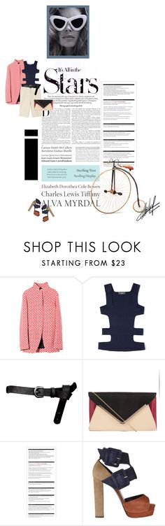 """Block"" by novadebi ❤ liked on Polyvore featuring Karl Lagerfeld, Marni, Salvatore Ferragamo, Louis Vuitton, ASOS, Tiffany & Co., Arche and Pierre Hardy"