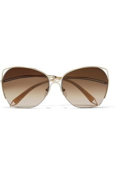 Buy Victoria Beckham Women's Metallic Rimless Square Sunglasses - 18K Gold, starting at $950. Similar products also available. SALE now on!