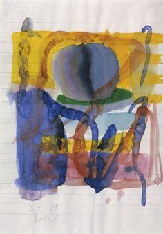 Gerhard Richter » Art » Watercolours » Untitled (3.1.1978)