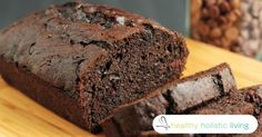 Moist and Chocolatey Zucchini Loaf Recipe with Apple Cider Vinegar and Maple Syrup - http://nifyhealth.com/moist-and-chocolatey-zucchini-loaf-recipe-with-apple-cider-vinegar-and-maple-syrup/