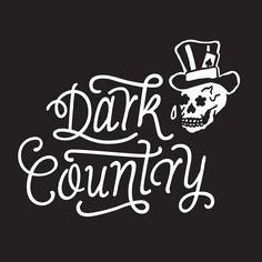 Dark Country - Logo Lettering, Dark, Inspiration, Logo, Country, Home Decor, Biblical Inspiration, Logos, Decoration Home