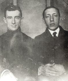 Maurice Ravel and Igor Stravinsky, 1910