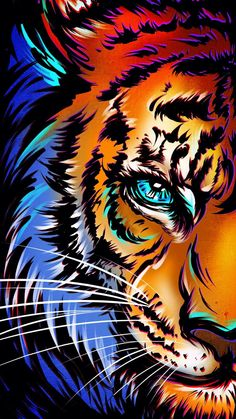 Eye Of Tiger - IPhone Wallpapers