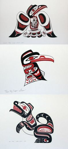 Pacific Northwest Indian Art | for their warm home and hospitality ...