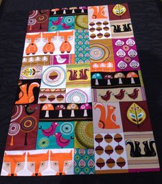 Baby Quilt Modern Baby Quilt Baby Quilts Gender by TheVinylTeacup