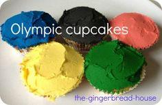fun Olympic cupcakes