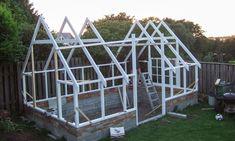 Glass Green House, Backyard Greenhouse, Outdoor Living, Greenhouses, Landscape, Sheds, Building, Garden, Inspiration