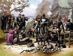 Batman Eternal teaser art revealed by writer Scott Snyder