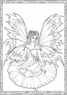 163 Best Fairies Images Coloring Sheets Coloring Books Coloring