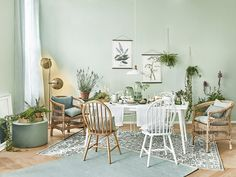 Decor, House Colors, Salon Decor, Living Room Windows, Interior Design, Home Decor, House Interior, Green Living, Home Staging