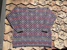Queen Anne's Lace pattern by Alice Starmore Stillwater ( heb ik)