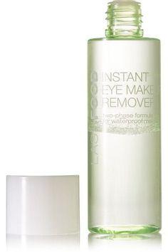 Instructions for use: Shake bottle before use Apply onto a clean cotton pad Gently wipe the eye area until all traces of makeup are removed 100ml/ 3.4fl.oz.    Ingredients: Water, Cyclopentasiloxane, Cyclomethicone, Isohexadecane, Poloxamer 184, Sodium Chloride, Benzyl Alcohol, Hexylene Glycol, Allantoin, Disodium EDTA, Quaternium-15, Phenoxyethanol, Benzalkonium Chloride.