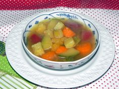 Sopa de Legumes feita na panela de pressão. Cantaloupe, Fruit, Food, Veg Soup, Tower Pressure Cooker, Healthy Tips, Top Recipes, Creative, Cooking