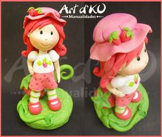 rosita fresita, frutilla, Strawberry Shortcake , cake topper