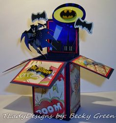 """TLady Designs: It's a """"BATMAN"""" time of the year!"""