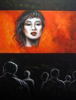 """Anima I"", Acryl, 80 x 60 cm"