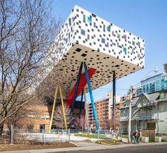 Ontario College of Art & Design. Alsop Architects (2004). #toronto #canada…