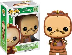 """Well, there's the usual things: flowers... chocolates... promises you don't intend to keep"" Beauty and the Beast - Cogsworth Pop! Vinyl Figure #pop #popvinyls #vinyls #movies #animation #cartoon #disney #Disney #popdisney #beautyandthebeast #funko #OzzieCollectables #ozzie #collectables #cogsworth #clocks"
