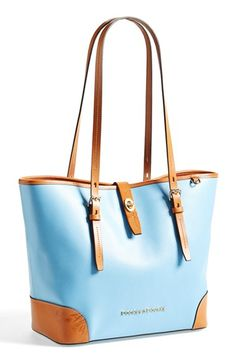 "Dooney & Bourke - ""Claremont - Dover"" Leather Tote"