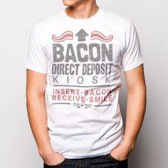 Bacon Deposit Kiosk T-Shirt