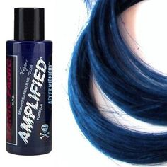 Manic Panic Amplified Hair Dye, After Midnight Blue at I Kick Shins