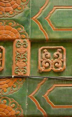 Керамический архитектурный декор из Пекина: uchitelj