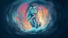 Mufasa by Kirsten Gould Lion King Drawings, Lion King Art, Arte Disney, Disney Fan Art, Le Roi Lion Film, Kimba The White Lion, Lion King Pictures, The Lion Sleeps Tonight, Disney Sleeve