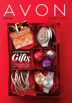 Avon Brochures Online 2017 - View Avon Campaign Catalogs Online - Customers and Representatives can view 'static' catalogs online for futuring shopping.