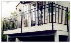 Balcony railing designs design ideas panel outdoor balcony gl railing rs outdoor modern balcony railing design stainless steel 316 square gl deck railing design ideas diy Outdoor Balcony Railing At … Balcony Grill Design, Balcony Railing Design, Backyard Fences, Fenced In Yard, Backyard Privacy, Fence Landscaping, Pool Fence, Balustrades Avant, Deck Stair Railing