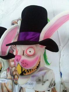 Mascara de conejo diabolico rabbit evil