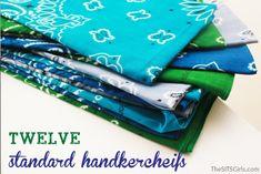 Make Your Own Handkerchief DIY Tablecloth