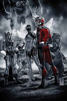 THE ASTONISHING ANT-MAN #1 Nick Spencer (w) • Ramon Rosanas (a) Cover by MARK BROOKS