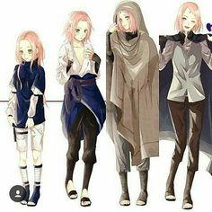 Sakura ver Sasuke ....