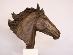 Bronze Horse Sculptures and Studies by Kate Woodlock  Horse Head...