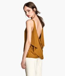 Top in a linen mix