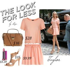 Get The Look~Taylor by coolmommy44 on Polyvore featuring Topshop, H&M, GetTheLook, LookForLess and under