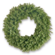 National Tree Company 36-inch Norwood Fir Wreath with Clear Lights