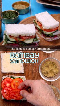 Vegetable Sandwich Recipes, Vegetarian Sandwich Recipes, Veg Sandwich, Vegetarian Snacks, Healthy Recipes, Healthy Finger Foods, Snacks Recipes, Grilled Sandwich Recipe, Healthy Sandwiches