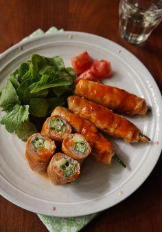 オクラとチーズの肉巻き by 楠みどり   レシピサイト「Nadia   ナディア」プロの料理を無料で検索