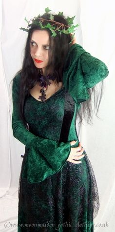Moonmaiden Gothic Clothing - Maliceaen Bolero