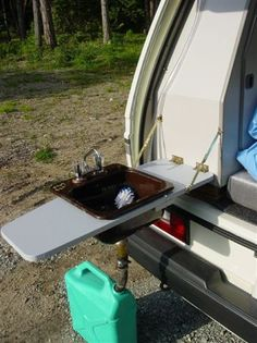 neat sink for camping