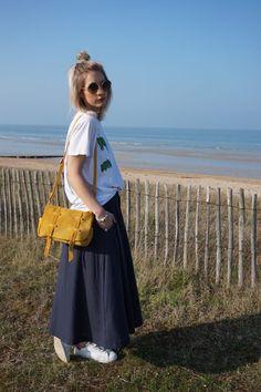 Les Galeries Lafayette par Laetitia Ivanez #outfit #maxiskirt