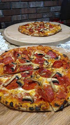 [Homemade] Pepperoni and mushrooms