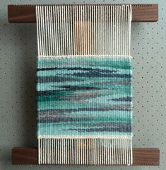 Helen Smith, Weaving Tapestry on Little Looms online class with Rebecca Mezoff