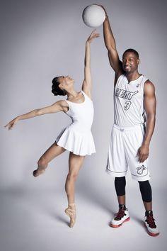 Miami city ballet meets Miami heat