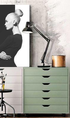 Επιτραπέζιο φωτιστικό - πορτατίφ - λαμπατέρ γραφείου, σε μοντέρνο στυλ, με μεταλλική βάση και ρυθμιζόμενο σώμα σε μαύρο χρώμα. Σειρά Flexo της Viokef! - Desk - reading lamp, in modern style, with metal base and adjustable body in black! #reading #desk #desklamp #tablelamp #tablelight #readinglight #wallart #homeinterior Home Interior, Light Fixture