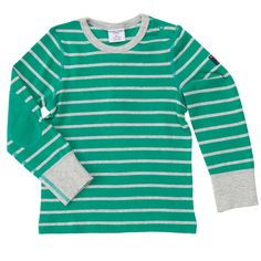 Professor Patch Signature Stripe Top from Polarn O. Pyret USA