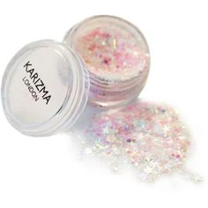 Karizma Fairy Dust Glitter ($6.87) ❤ liked on Polyvore featuring beauty products, makeup and pink